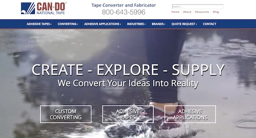 Can-Do National Tape Home Page