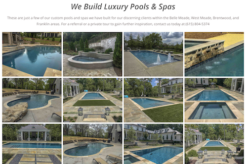 Perry Pool and Spa page 3